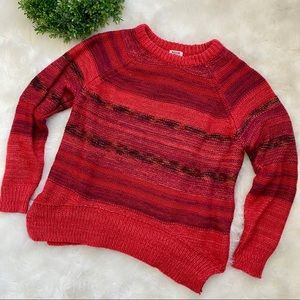 Mossimo Supply Co. Red Sweater